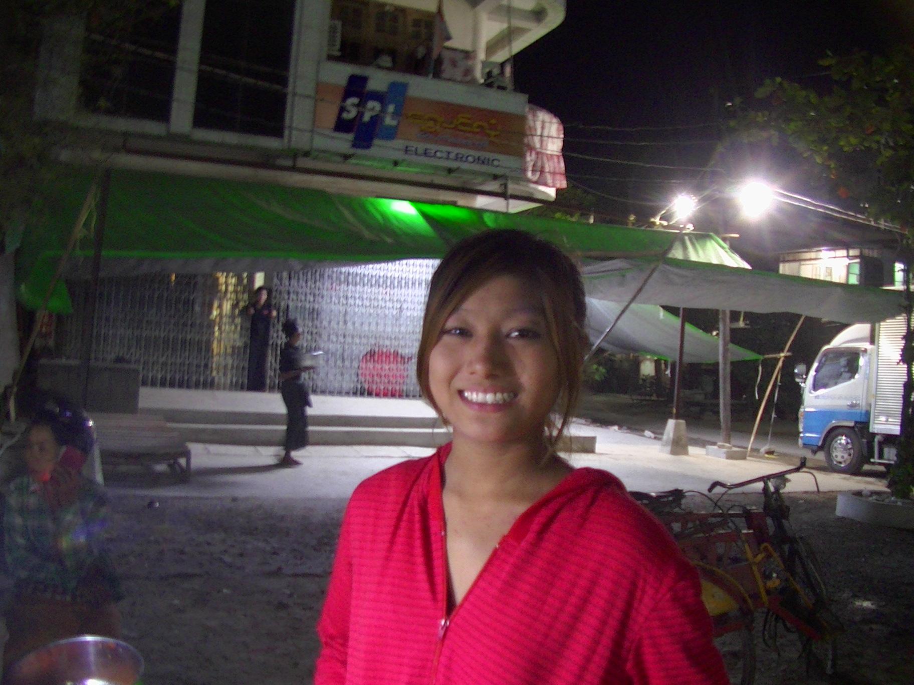 美人 ミャンマー