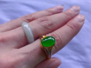 高級翡翠ルース 緑なす地球からの贈り物