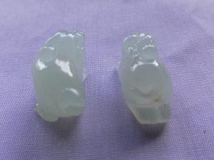 氷翡翠カービング