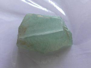 氷翡翠原石 青氷