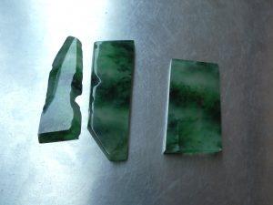 氷翡翠彫刻用プレート